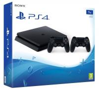 PlayStation 4 Slim 1TB (EUR) + Доп. Геймпад[PLAY STATION 4]
