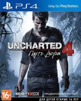 Uncharted 4: A Thief's End[PLAY STATION 4]