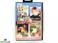 4в1 HOME ALONE 2/RAMBO 3/SIMPSON /CLUE[16 BIT]