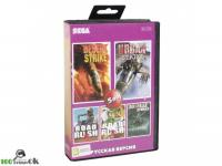 5в1 Desert , Jungle , Urban Strike  /Road Rash 2, 3[16 BIT]