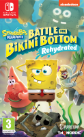 SpongeBob SquarePants: Battle For Bikini Bottom -Rehydrated[Б.У ИГРЫ NINTENDO SWITCH]