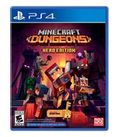 Minecraft Dungeons - Hero Edition includes Hero Pass [PLAY STATION 4]