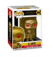 Фигурка Funko POP! Bobble: Star Wars: Rise of Skywalker-C-3PO (Red Eyes)  48222