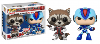 Фигурка Funko POP! Vinyl 2-Pack: Capcom vs. Marvel: Rocket vs MegaMan X[ФИГУРКИ И АТРИБУТИКА]