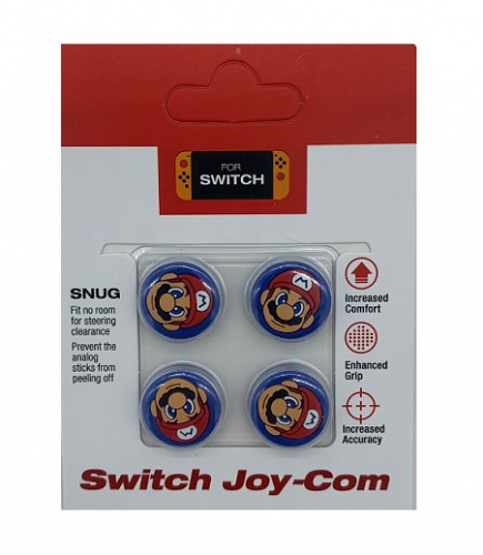 Насадка N-Switch Cover for Stick Silicon  4 in 1 Mario